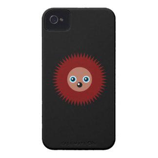 Cute little hedgehog iPhone 4 cover