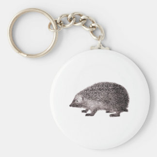 Cute Little Hedgehog Keychain