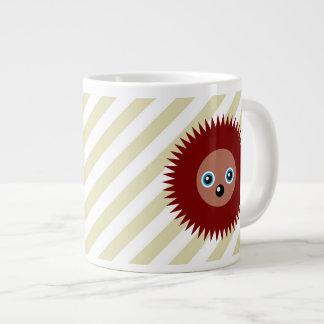 Cute little hedgehog large coffee mug
