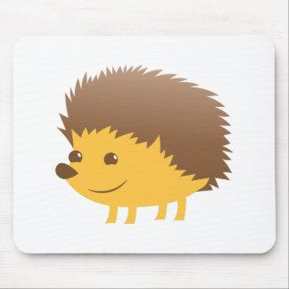 cute little hedgehog mouse pad