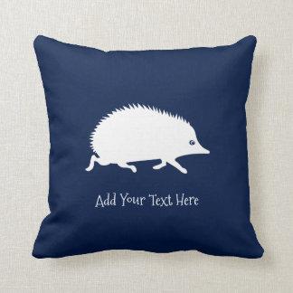 Cute Little Hedgehog Throw Pillow