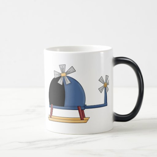 Cute Little Helicopter Coffee Mugs