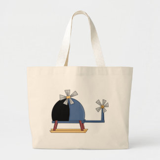 Cute Little Helicopter Tote Bag
