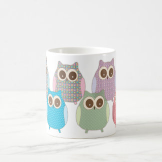 Cute Little Hoot Owls Assorted Colors Coffee Mug