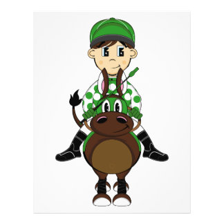 Cute Little Jockey Flyer