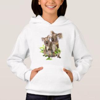 Cute Little Koala Bear Australian Animal Art Hoodie