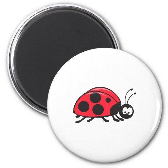 cute little ladybug magnet