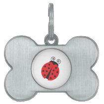 Cute Little Ladybug Pet Tag