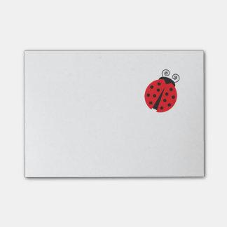 Cute Little Ladybug Post-it Notes