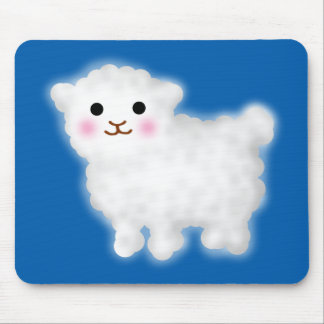 Cute Little Lamb Mouse Pad