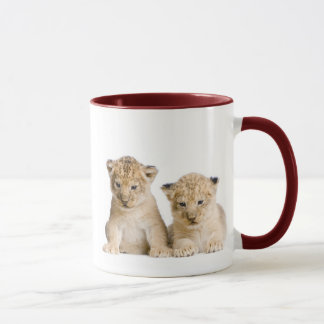 Cute Little Lion Cubs Mug