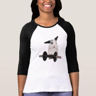 Cute Little Lop Rabbit and a Weight T-Shirt