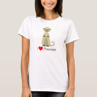 Cute Little Meerkat Animal Cartoon T-Shirt