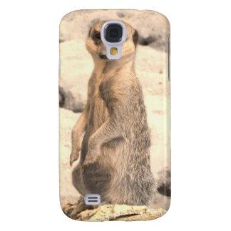 Cute Little Meerkat on Guard Galaxy S4 Cover