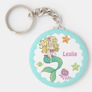 Cute Little Mermaid Keychains