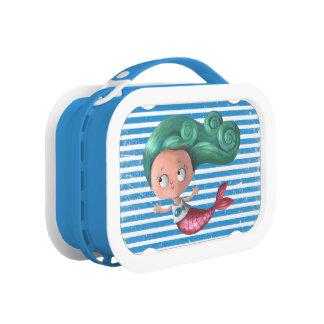 Cute Little Mermaid Lunch Box