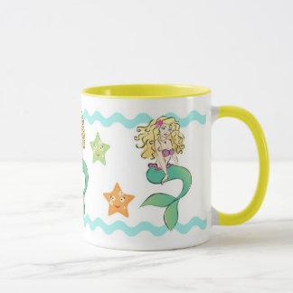 Cute Little Mermaid Mug