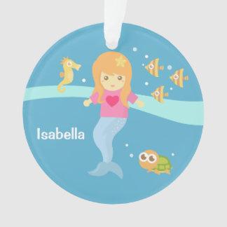 Cute Little Mermaid Sea Creatures Girls Room