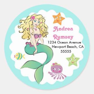 Cute Little Mermaid Sticker