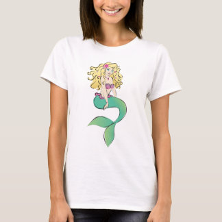 Cute Little Mermaid T-Shirt