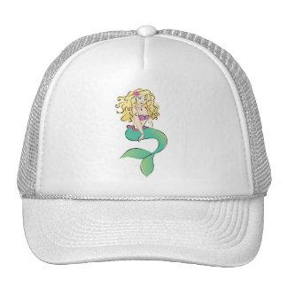 Cute Little Mermaid Trucker Hat