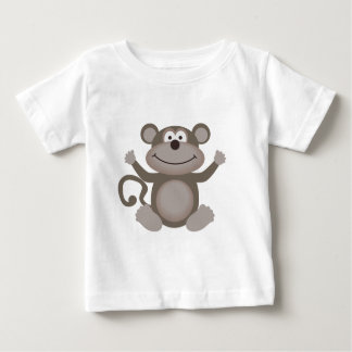 Cute Little Monkey Baby T-Shirt