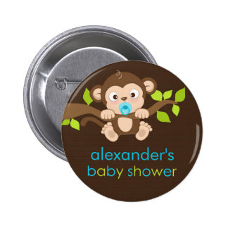 safari baby shower buttons pins zazzle