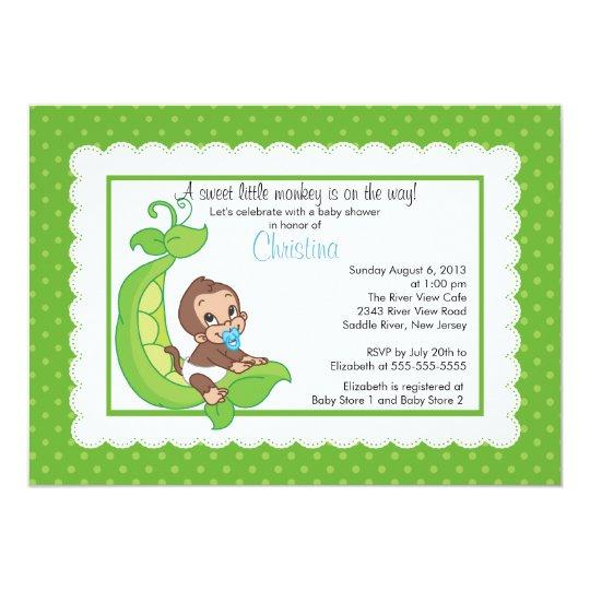 Pea In The Pod Baby Shower Invitations for adorable invitations design