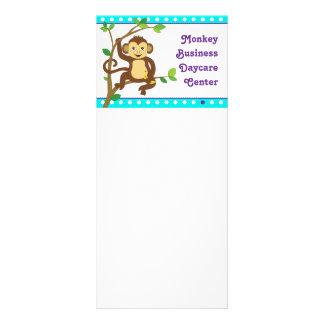 Cute Little Monkey Rack Card