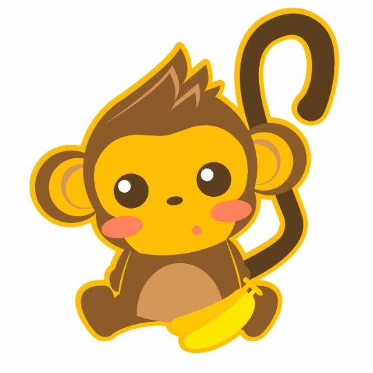 Cute Little Monkey Statuette
