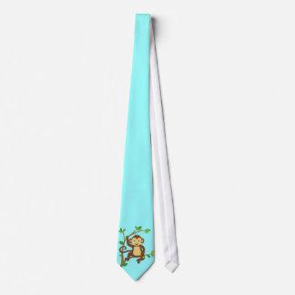 Cute Little Monkey Tie