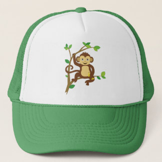 Cute Little Monkey Trucker Hat