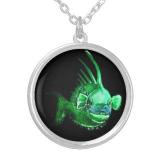 Cute Little Monster Fish Custom Jewelry
