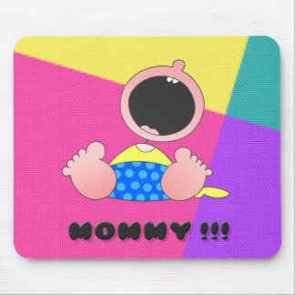 Cute Little Monster Mouse Pads