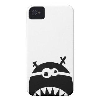 Cute little monster stencil iPhone 4 case
