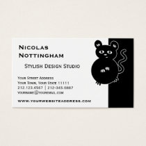 Cute Little Mouse Business Card