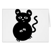 Cute Little Mouse Card