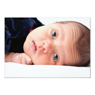 Cute Little Newborn Infant Card
