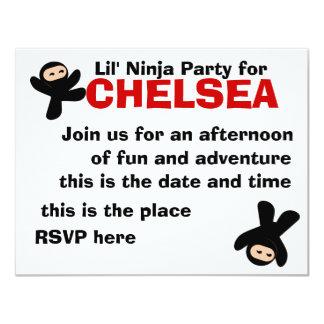 Cute Little Ninjas Card