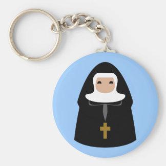 Cute Little Nuns Keychain