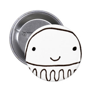 Cute Little Octopus Squid Thing Button