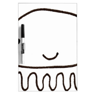 Cute Little Octopus Squid Thing Dry-Erase Board