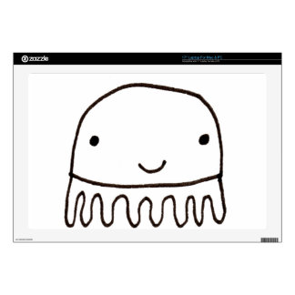 Cute Little Octopus Squid Thing Laptop Decals