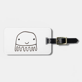 Cute Little Octopus Squid Thing Luggage Tag