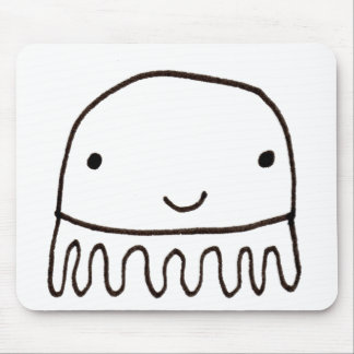 Cute Little Octopus Squid Thing Mouse Pad