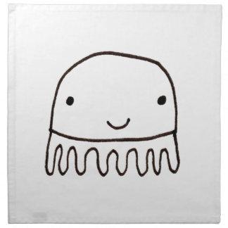 Cute Little Octopus Squid Thing Napkin