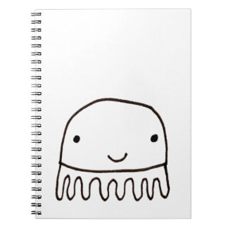 Cute Little Octopus Squid Thing Notebook