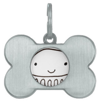 Cute Little Octopus Squid Thing Pet Name Tag