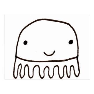Cute Little Octopus Squid Thing Postcard
