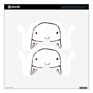 Cute Little Octopus Squid Thing PS3 Controller Decal